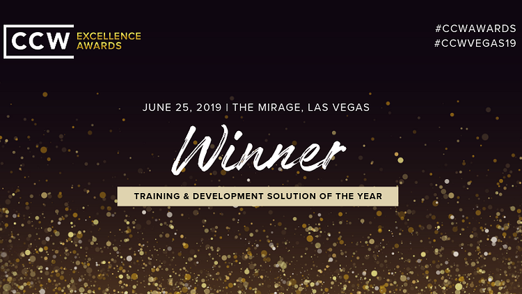 Training & Development solution of the year winner