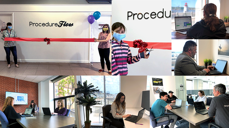ProcedureFlow opens new office to support rapid growth.